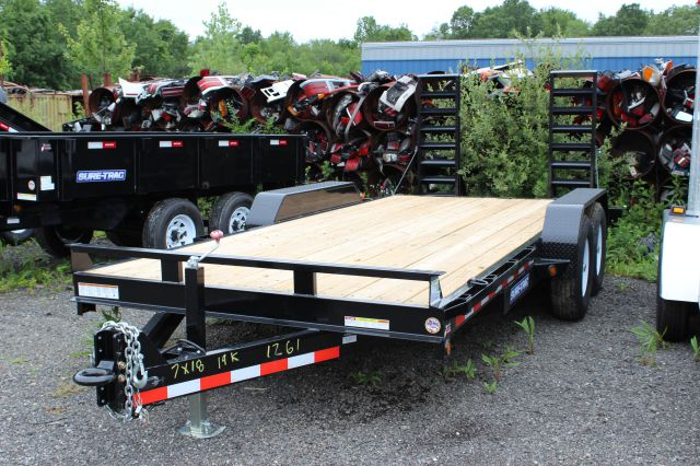 2014 Novae Sure-Trac 7' x 18' Utility Implement Trailer