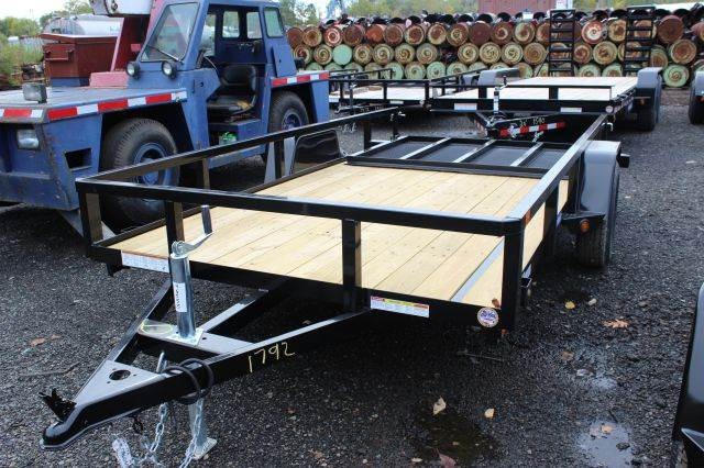2015 Novae Sure-Trac 6' Wide Angle Iron Utility Tra