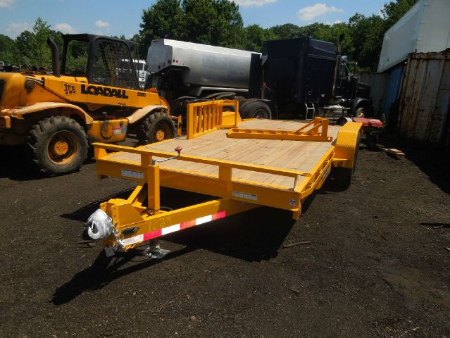 2013 Novae Sure-Trac 7' x 16' Equipment Utility Trailer