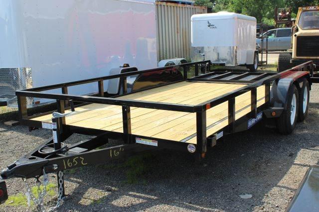 2015 Novae Sure-Trac 7' Wide TA Angle Iron Utility