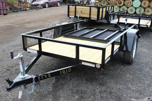 2015 Novae Sure-Trac 5' Wide Angle Iron Utility Tra