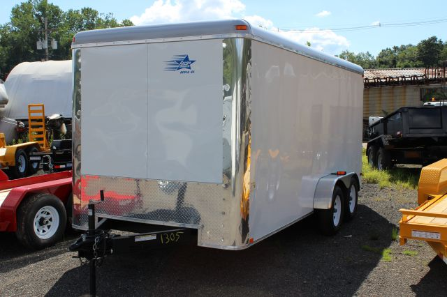 2014 Cargo South 7' x 16' Enclosed Cargo Trailer