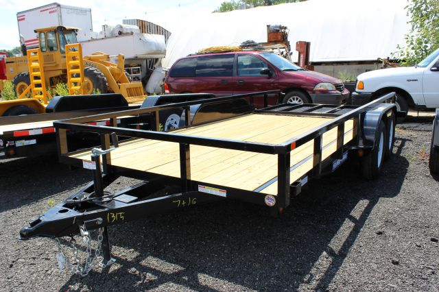 2014 Novae Sure-Trac 7' x 16' Tube Top Utility Trailer