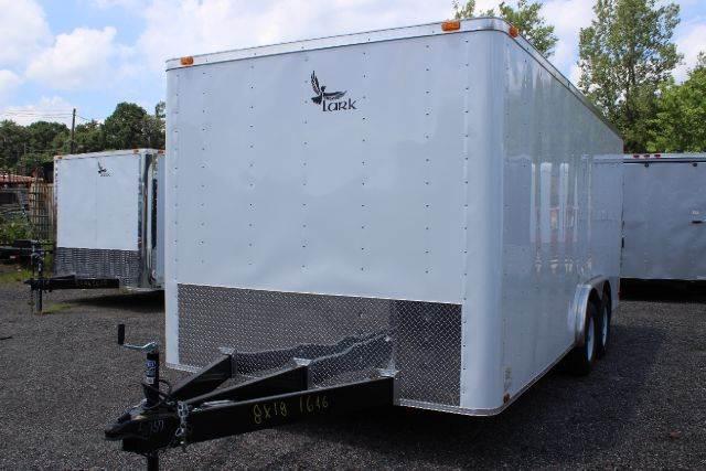2015 Lark 8' x 18' & 20' Enclosed Traile