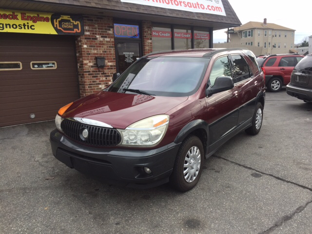 2004 Buick Rendezvous Awd Cx 4dr Suv In Worcester Ma