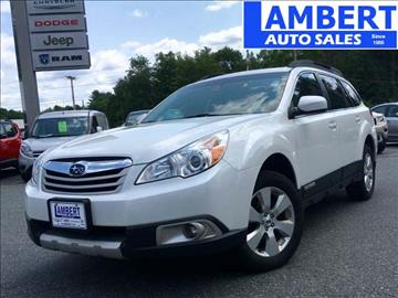 2012 Subaru Outback for sale in Claremont, NH