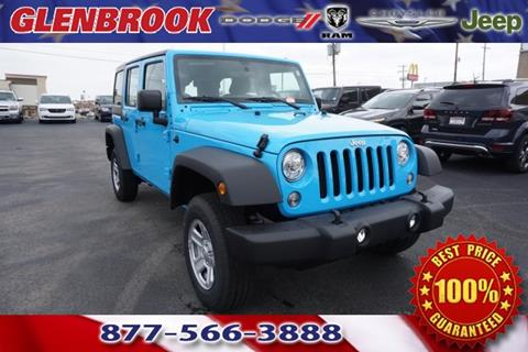 2017 Jeep Wrangler Unlimited for sale in Fort Wayne, IN