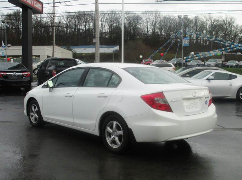 2012 Honda Civic Natural Gas 4dr Sedan - Knoxville TN