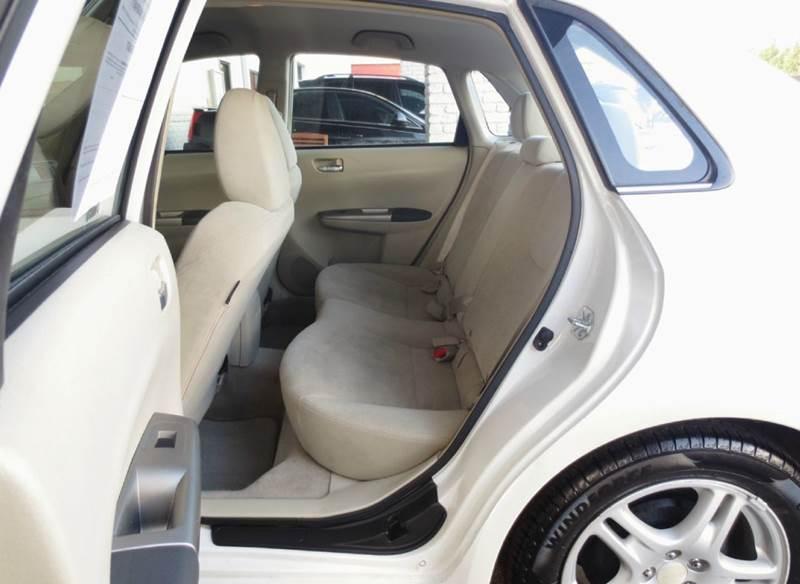 2008 Subaru Impreza AWD 2.5i 4dr Sedan 4A - Knoxville TN