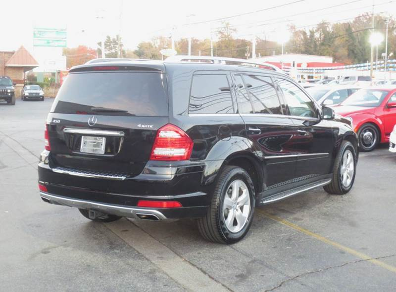 2011 Mercedes-Benz GL-Class GL450 4MATIC AWD 4dr SUV - Knoxville TN
