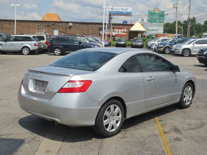 2006 Honda Civic LX 2dr Coupe w/Manual - Knoxville TN