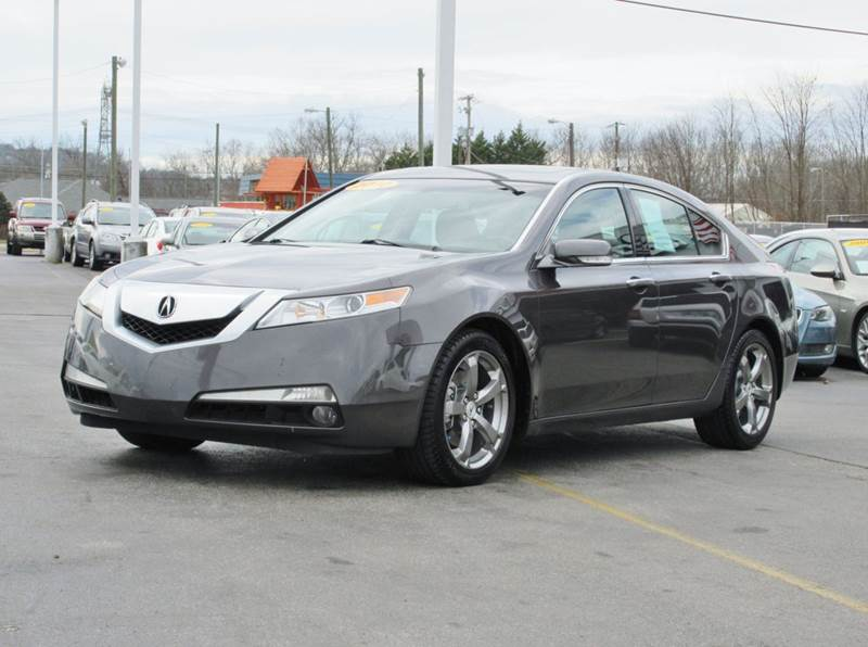 2010 Acura TL w/Tech w/18 In. Wheels 4dr Sedan w/Technology Package and 18 Wheels - Knoxville TN