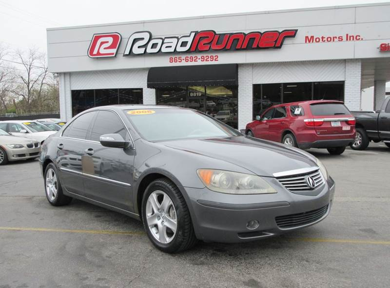 2006 Acura RL SH-AWD w/Navi 4dr Sedan System - Knoxville TN