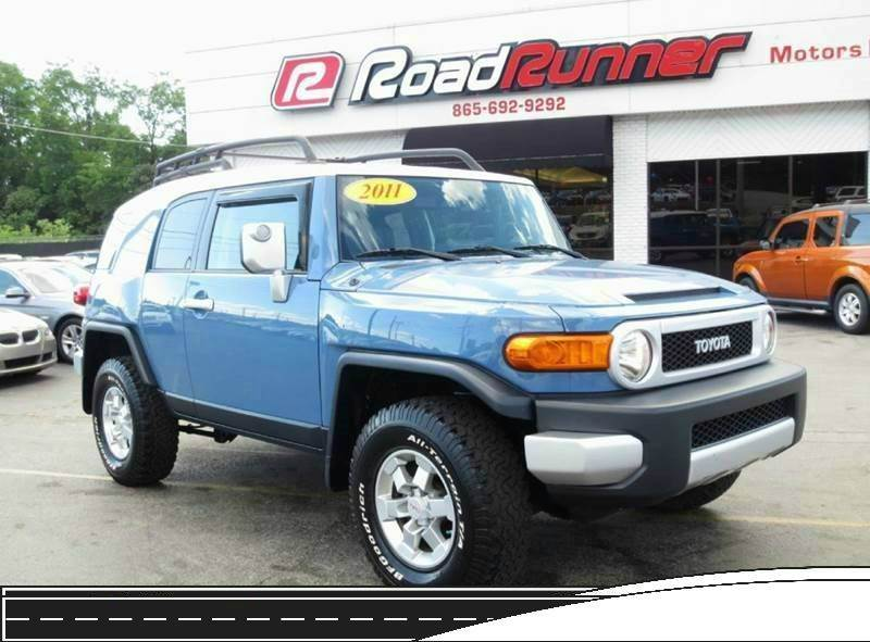 2011 Toyota Fj Cruiser 4x4 4dr Suv 5a In Knoxville Tn