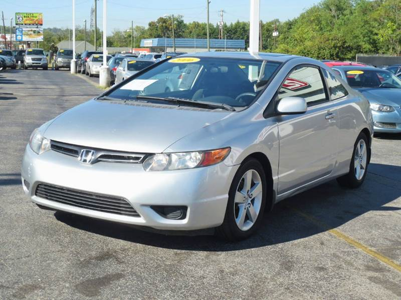 2006 Honda Civic EX 2dr Coupe w/Automatic - Knoxville TN