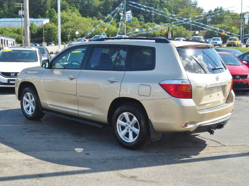 2009 Toyota Highlander Awd 4dr Suv In Knoxville Tn
