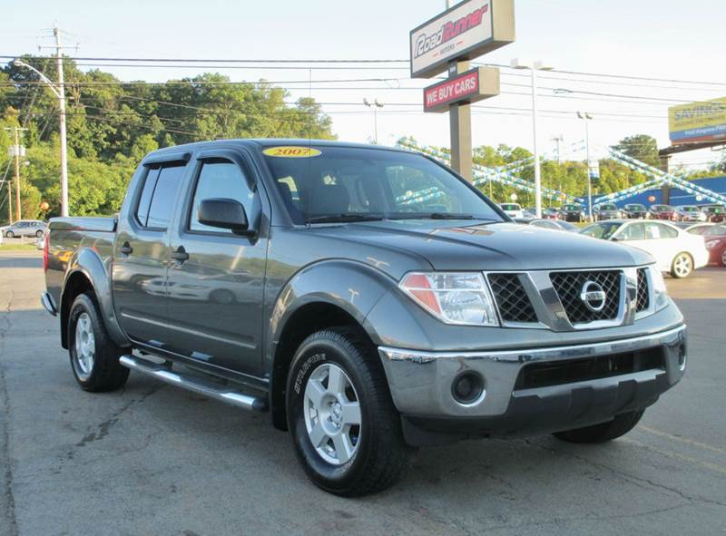 2007 nissan frontier se 4dr crew cab 4wd w alloy wheels in knoxville tn roadrunner motors