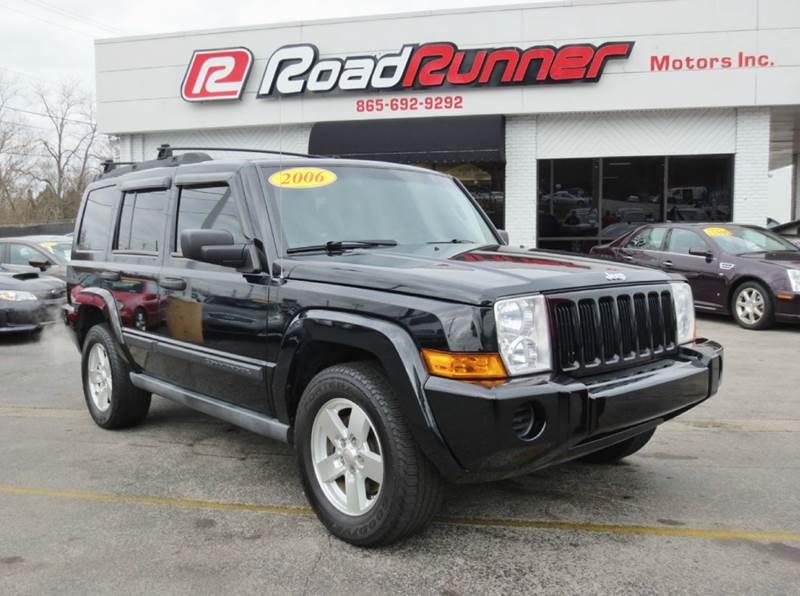 2006 Jeep Commander In Knoxville Tn Roadrunner Motors