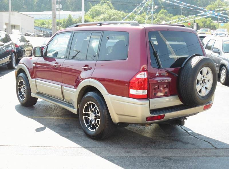 2004 Mitsubishi Montero Limited 4WD 4dr SUV - Knoxville TN