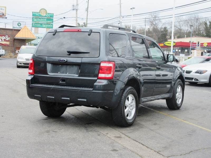 2008 Ford Escape XLT 4dr SUV V6 - Knoxville TN