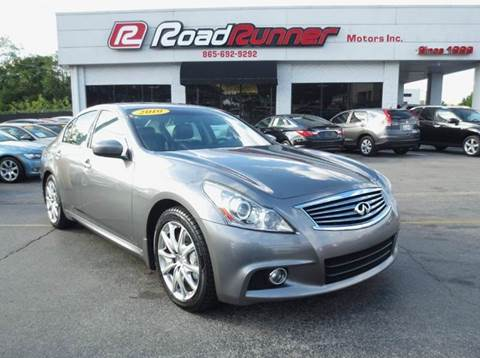 Infiniti For Sale Knoxville Tn