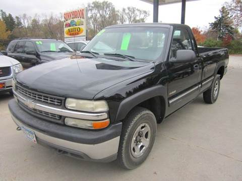 2002 Chevrolet Silverado 1500 For Sale Minnesota