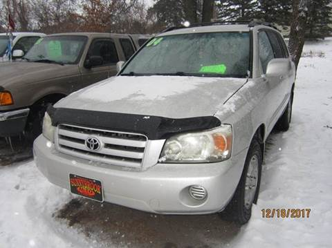 2004 Toyota Highlander for sale in Menahga, MN