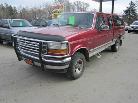 1993 ford f 150 for sale for Andy yeager motors in harrison arkansas