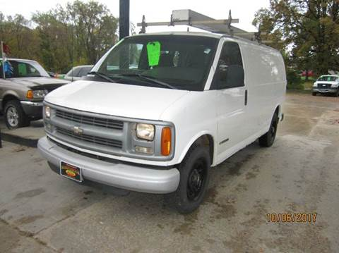 2001 Chevrolet Express Cargo for sale in Menahga, MN