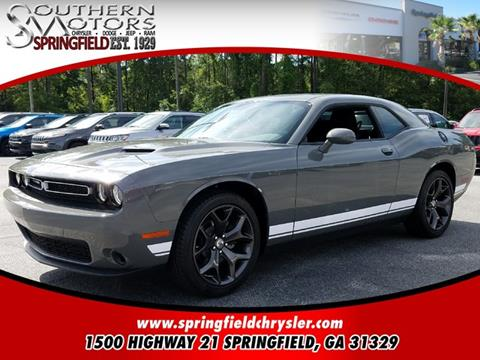 2017 Dodge Challenger for sale in Springfield GA
