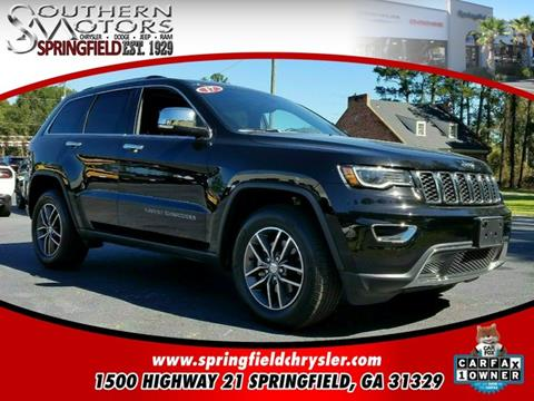 2017 Jeep Grand Cherokee for sale in Springfield, GA