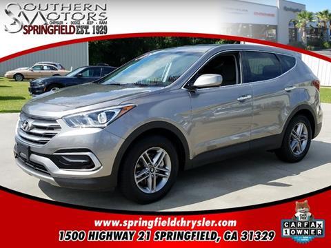 2017 Hyundai Santa Fe Sport for sale in Springfield, GA