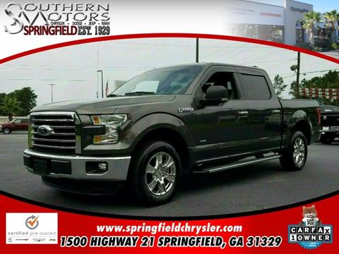 2015 Ford F-150 for sale in Springfield, GA