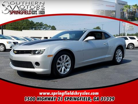 2014 Chevrolet Camaro for sale in Springfield GA