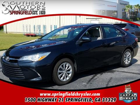 2016 Toyota Camry for sale in Springfield, GA