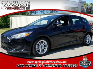 2016 Ford Focus for sale in Springfield, GA