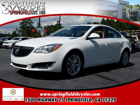 2016 Buick Regal for sale in Springfield GA