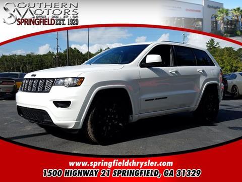 2018 Jeep Grand Cherokee for sale in Springfield, GA