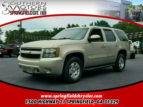 2011 Chevrolet Tahoe for sale in Springfield GA