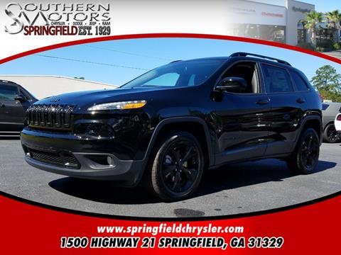2018 Jeep Cherokee for sale in Springfield, GA