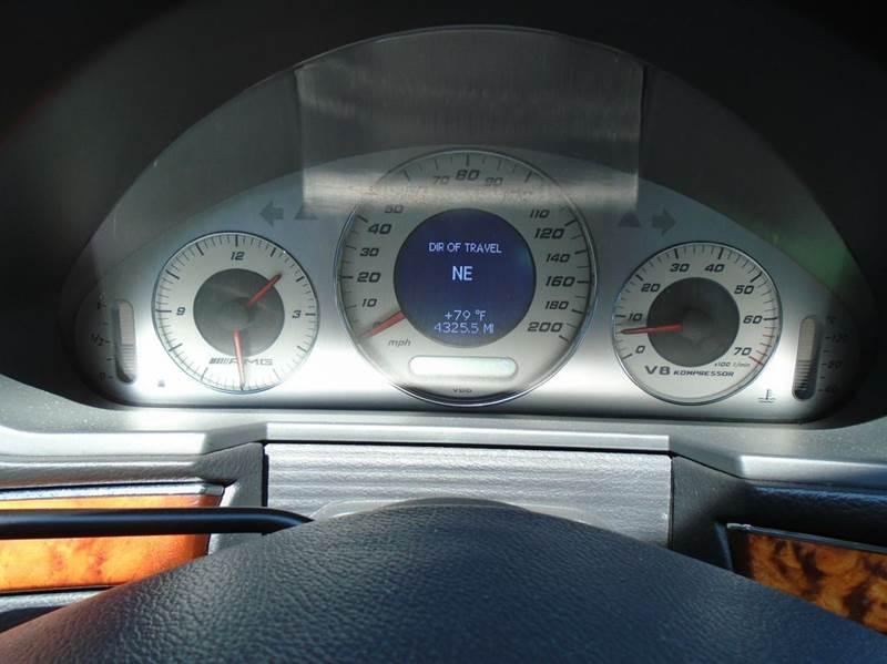 2005 Mercedes-Benz E-Class E 55 AMG 4dr Sedan - Albany NY