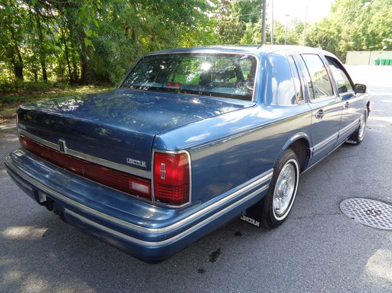 1993 Lincoln Town Car Signature 4dr Sedan In Chesapeake Va Liberty