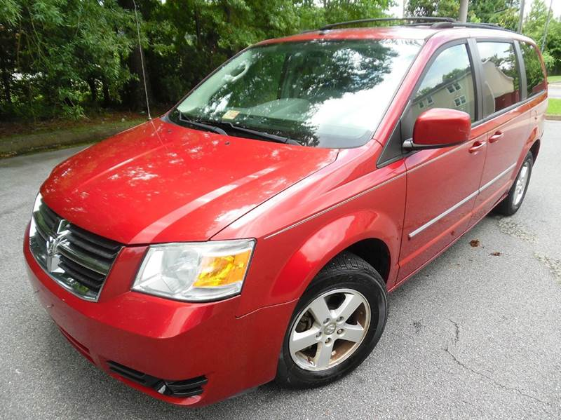 2008 Dodge Grand Caravan Sxt Extended Mini Van 4dr In