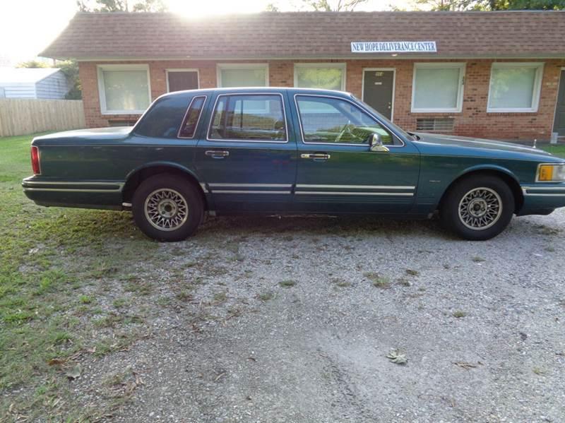 1994 Lincoln Town Car Signature 4dr Sedan In Chesapeake Va Liberty