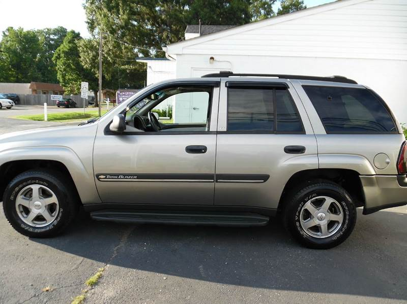 2002 Chevrolet Trailblazer Lt 4wd 4dr Suv In Chesapeake Va