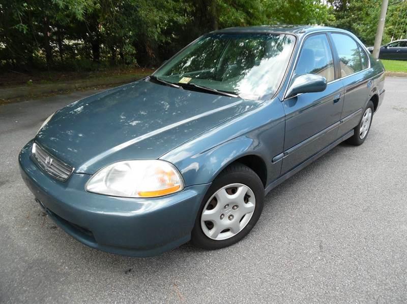 1998 Honda Civic EX 4dr Sedan   Chesapeake VA