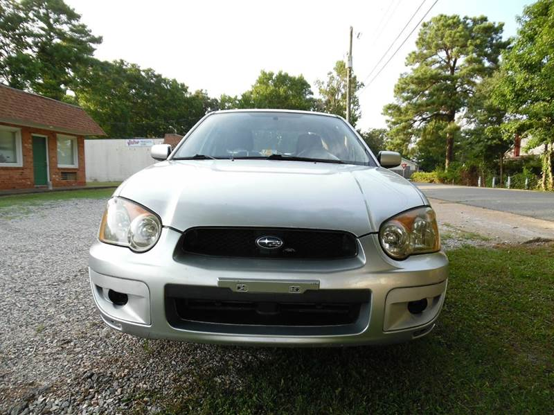 2004 Subaru Impreza Awd 2 5 Rs 4dr Sedan In Chesapeake Va