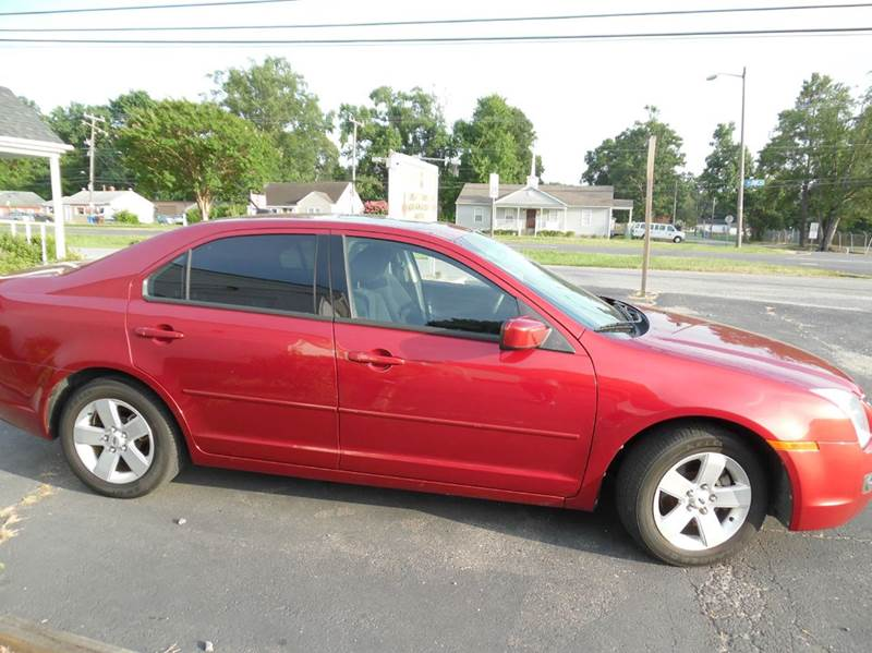 2009 Ford Fusion Se 4dr Sedan In Chesapeake Va Liberty