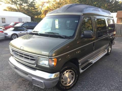 2002 Ford E 150 Conversion Van