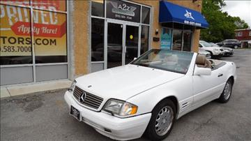 1996 Mercedes-Benz SL-Class for sale in Sharon Hill, PA